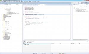 MainActivityクラスにgridItemsメンバを追加。