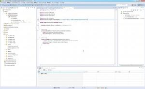 ArrayAdapterをimport。(List→Viewに変換する役割のやつ。)