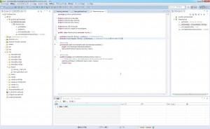MainActivityクラスにgridAdapterメンバを追加。