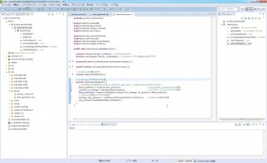 GridView1にsetAdapterする関数を作る。